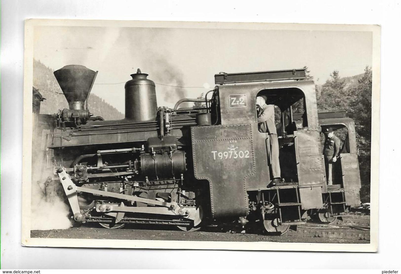 AUTRICHE - Zahnrad-Lokomotive Der Schneebergbahn. Puchberg - Hochschneeberg. Carte Glacée - Austria