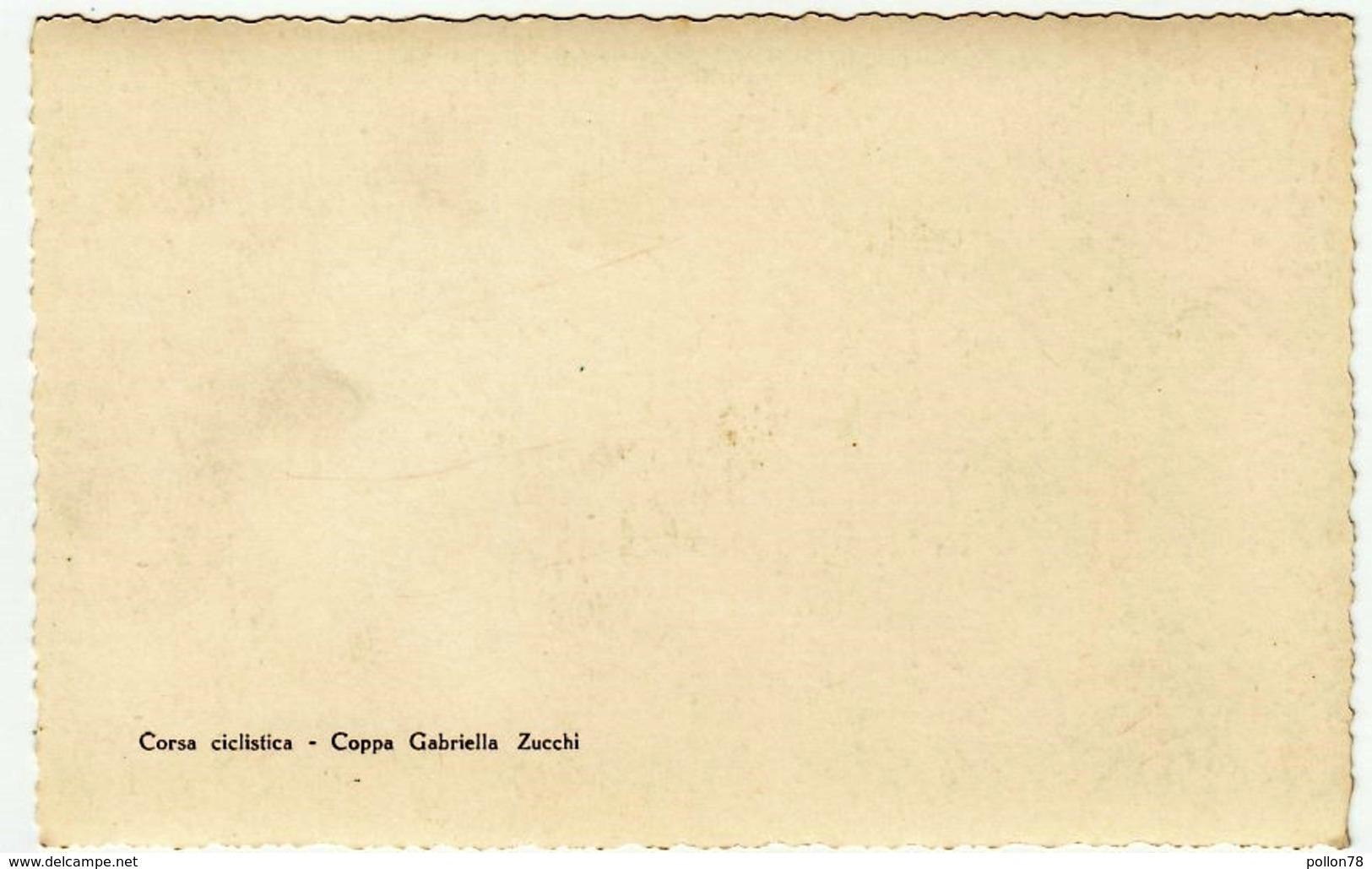 FOTOGRAFIA - CICLISMO - CORSA CICLISTICA - COPPA GABRIELLA ZUCCHI - LUOGO DA CLASSIFICARE - Vedi Retro - Ciclismo
