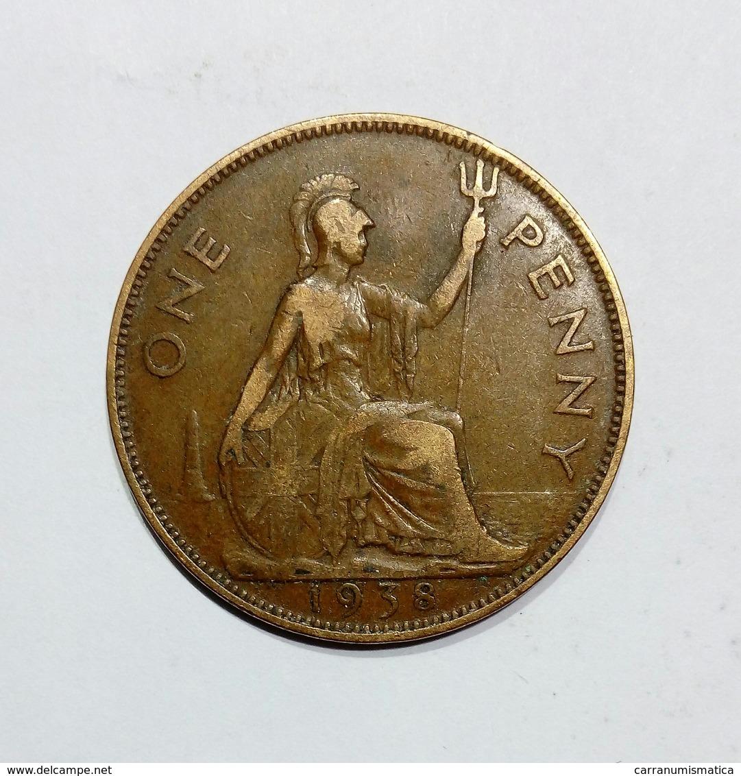 GREAT BRITAIN / GRAN BRETAGNA - One Penny ( 1938 ) GEORGE VI - D. 1 Penny