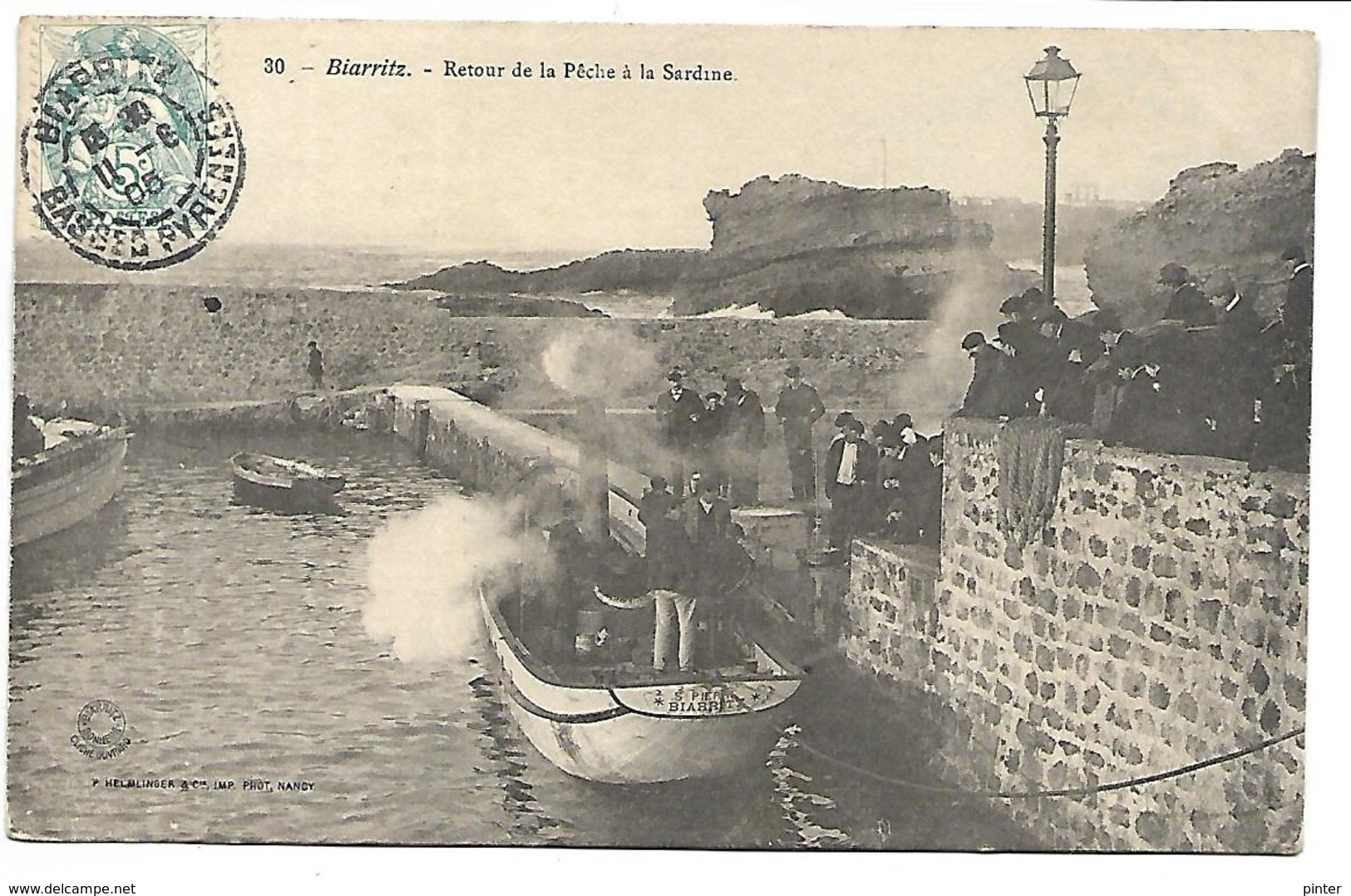 BIARRITZ - Retour De La Pêche à La Sardine - Biarritz