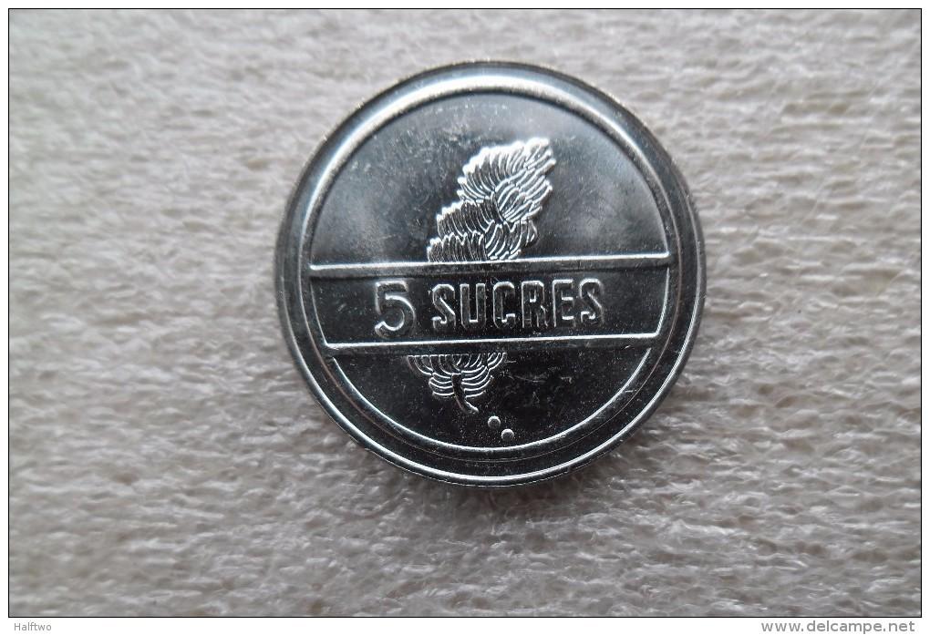 Ecuador 5 Sucres   1988   UNC - Ecuador