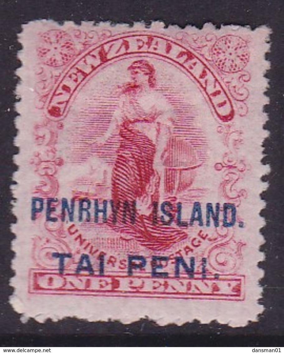 Penrhyn Island P.14 Wmk SG 10 Mint Hinged - Penrhyn