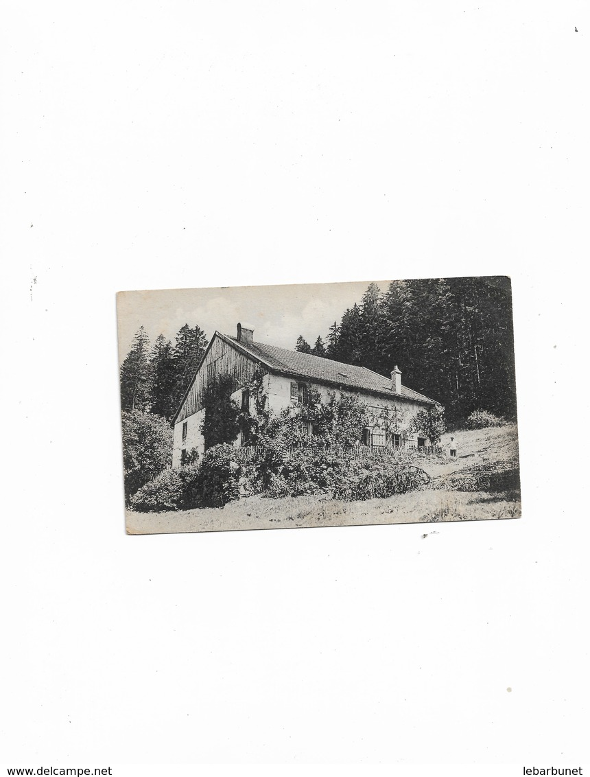 Carte Postale  Vosges (88)  Maison Dans La Foret - France