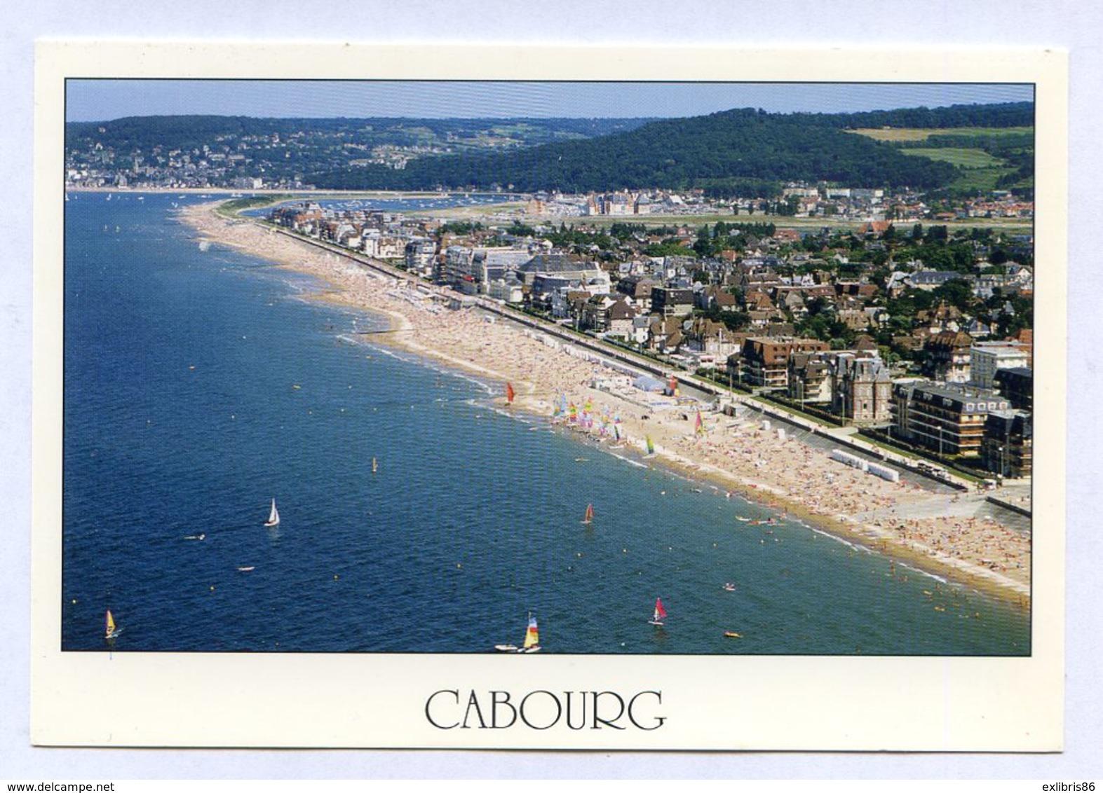 CP 14 CABOURG CALVADOS VUE AERIENNE ... REF100719 - Autres Communes