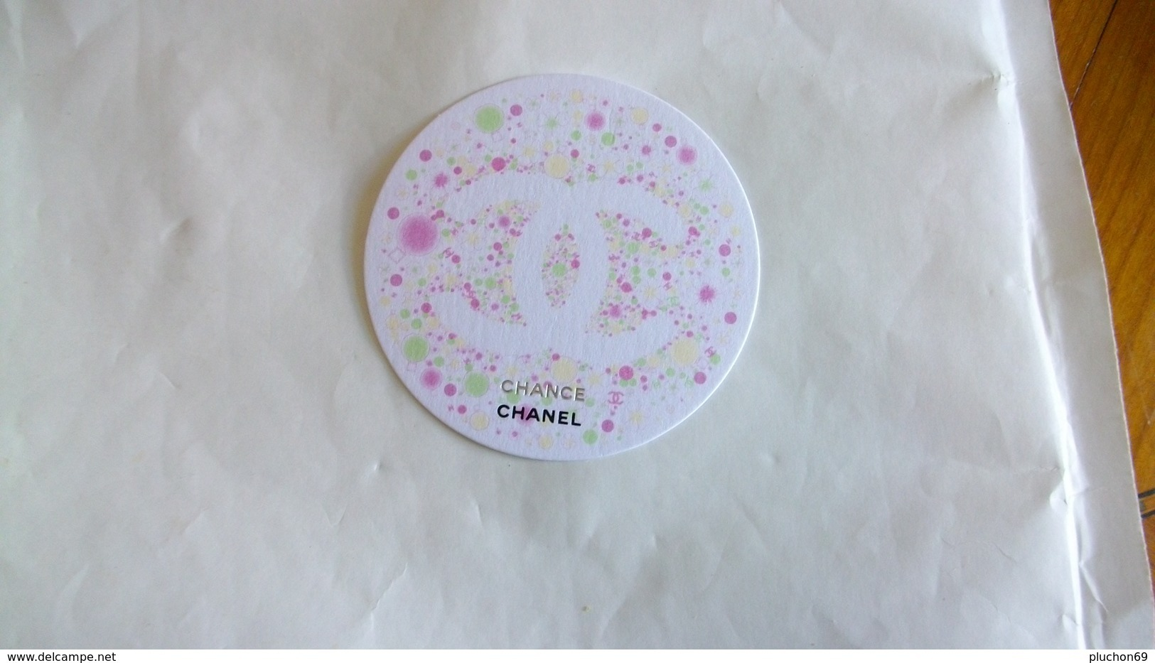 Carte Parfumée Chanel Chance Fleurie - Modern (from 1961)