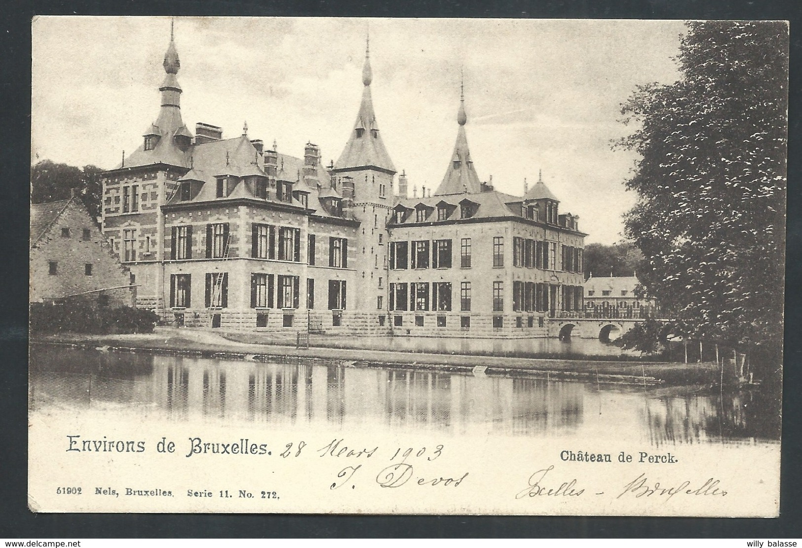 +++ CPA - Environs De Bruxelles - Château De PERCK - PERK - Nels Série 11 N° 272    // - Steenokkerzeel