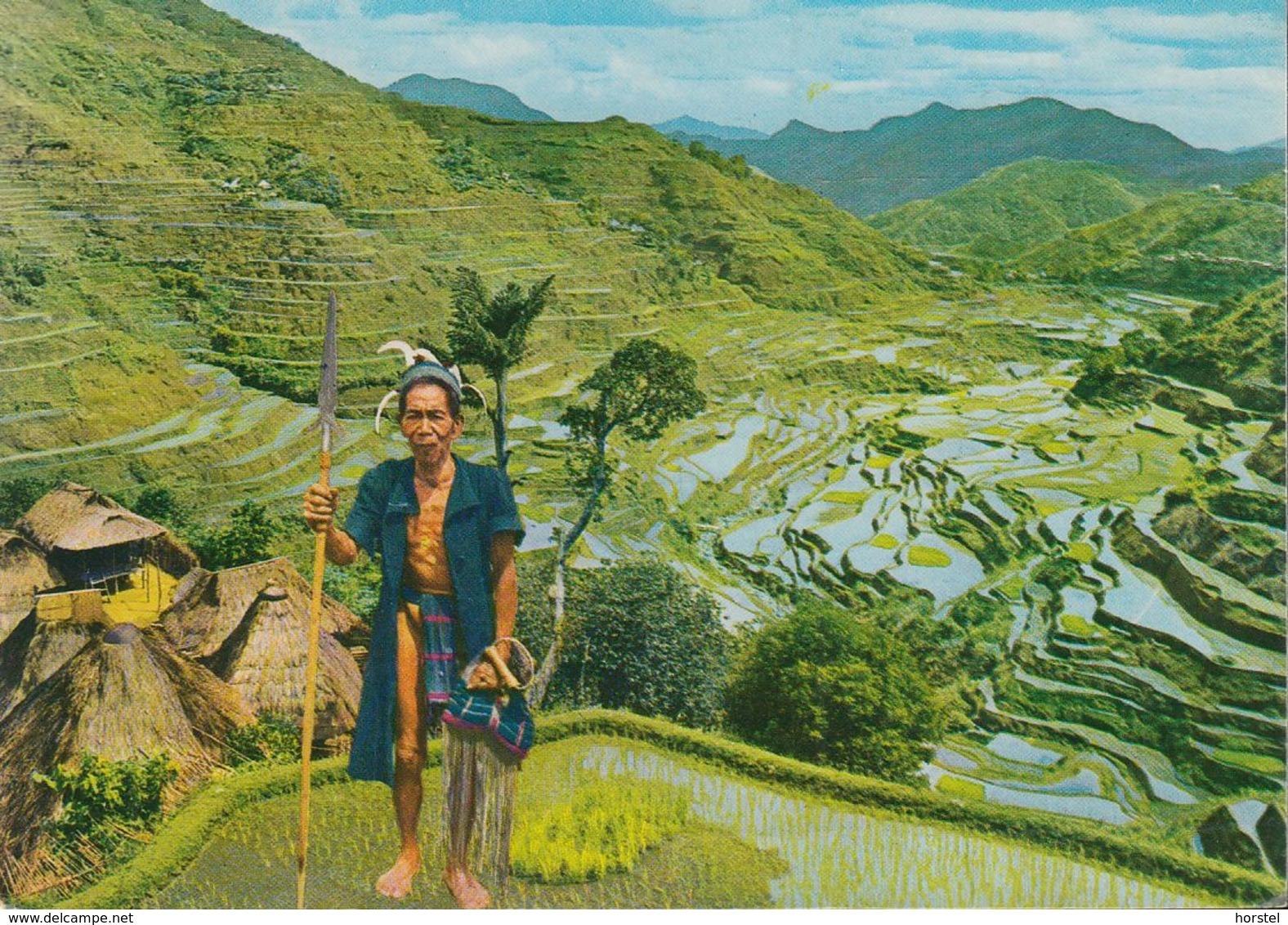 Philippinen - The Banaue Rice Terraces - Nice Stamp - Philippinen