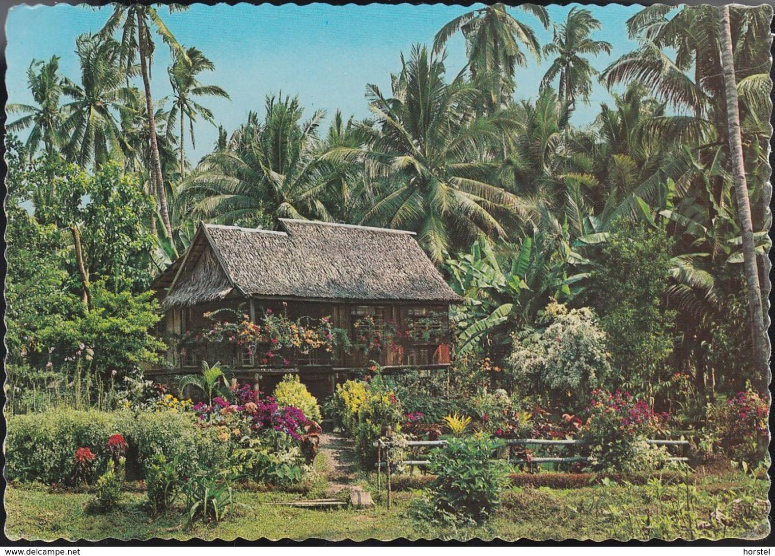 Philippinen - Sta. Maria Zamboanga City - Typical House - Nice Stamp - Filippine
