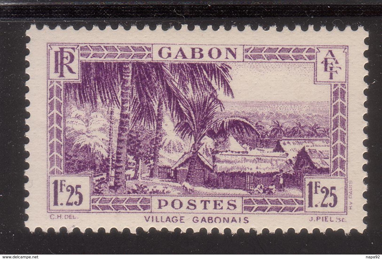 GABON 1933 YT 140A** - MNH - SANS CHARNIERE NI TRACE - Ongebruikt