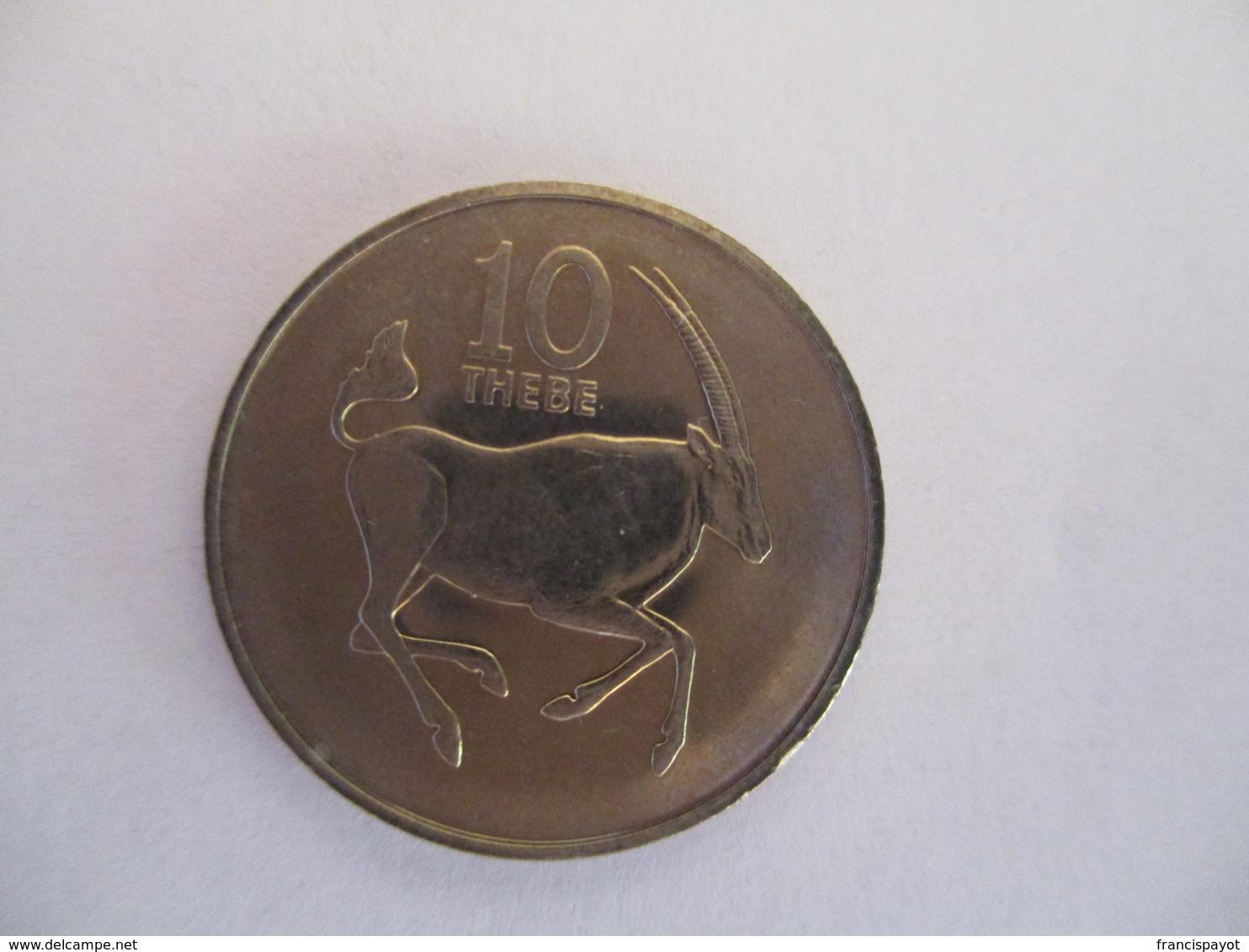 Botswana: 10 Phebe 1984 - Botswana