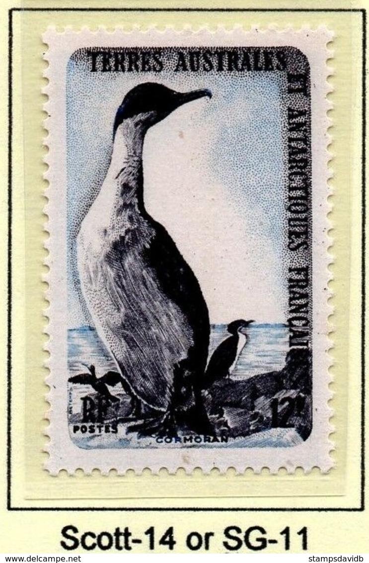 1959French Antarctic Territory16Birds20,00 € - Albatrosse & Sturmvögel
