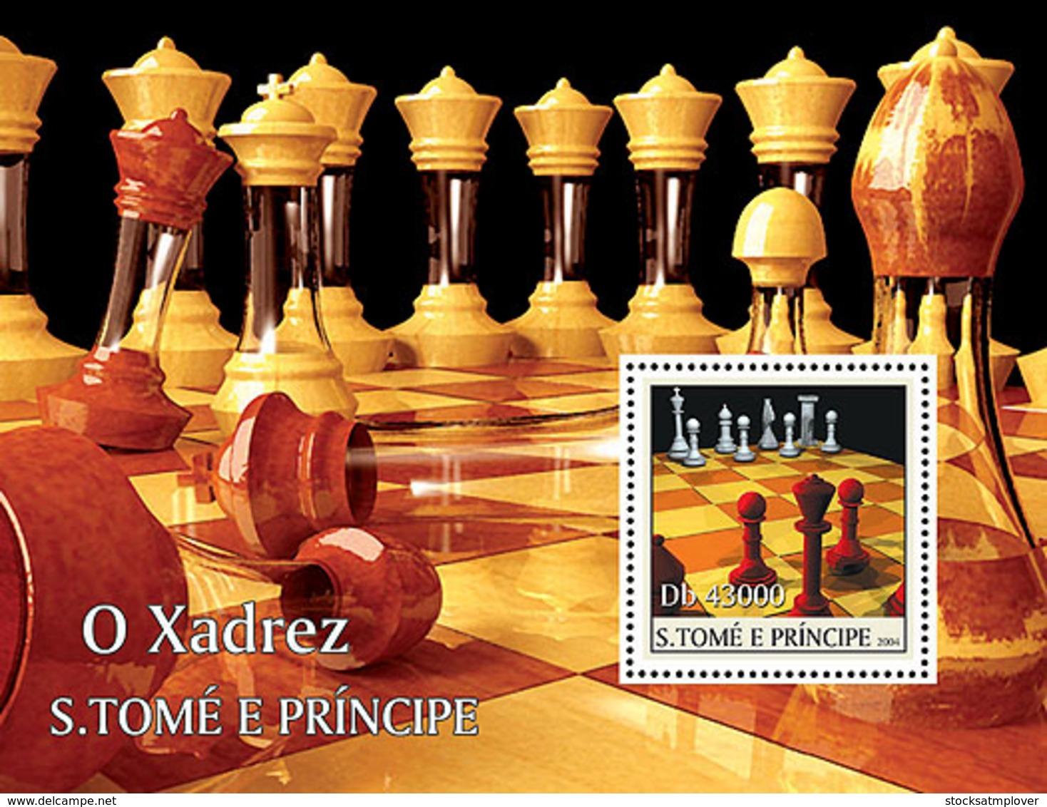 Sao  Tome 2004  Chess - Sao Tome And Principe