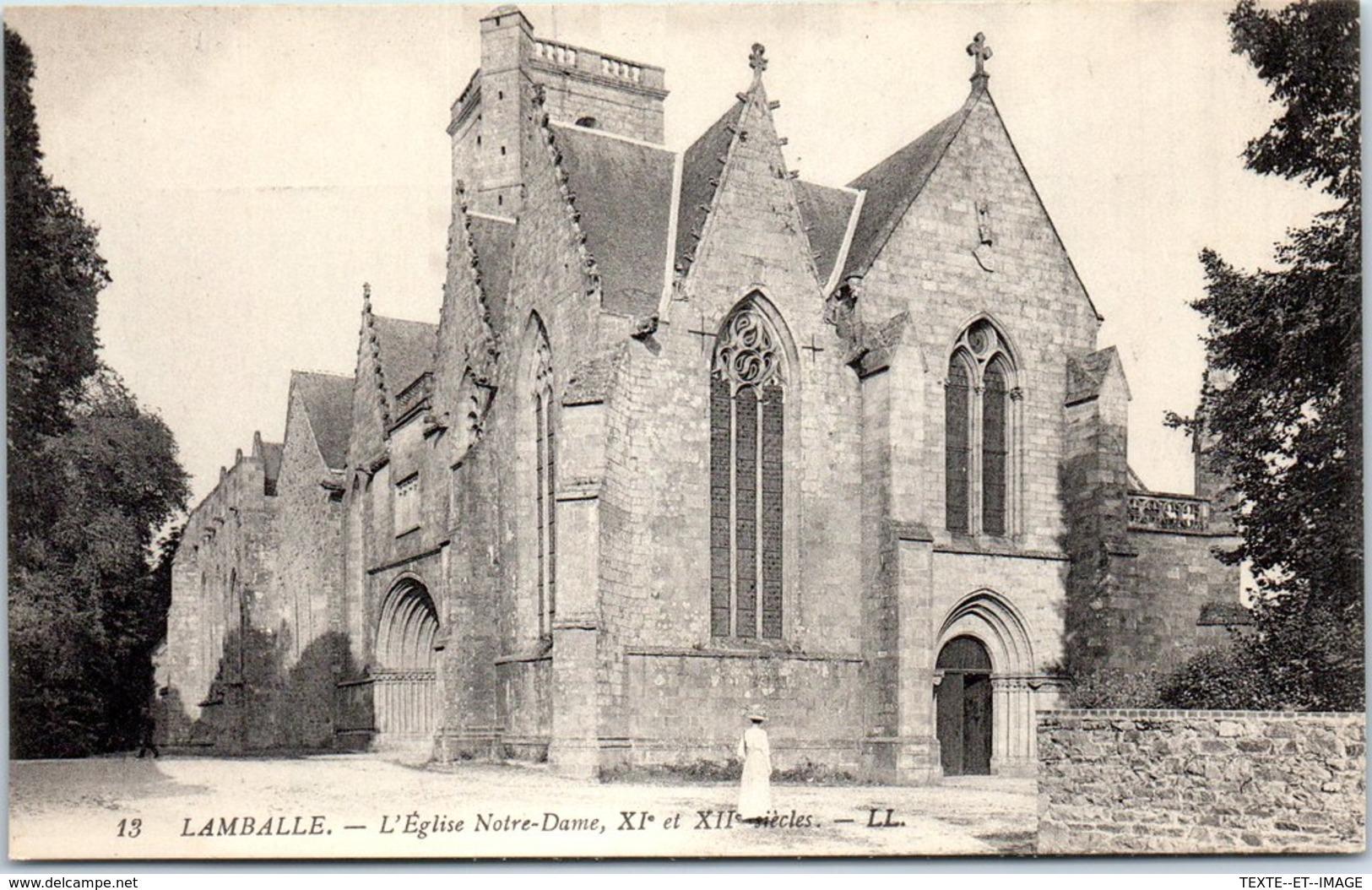22 LAMBALLE - Carte Postale Ancienne, Voir Cliché [REF/S003766] - Lamballe