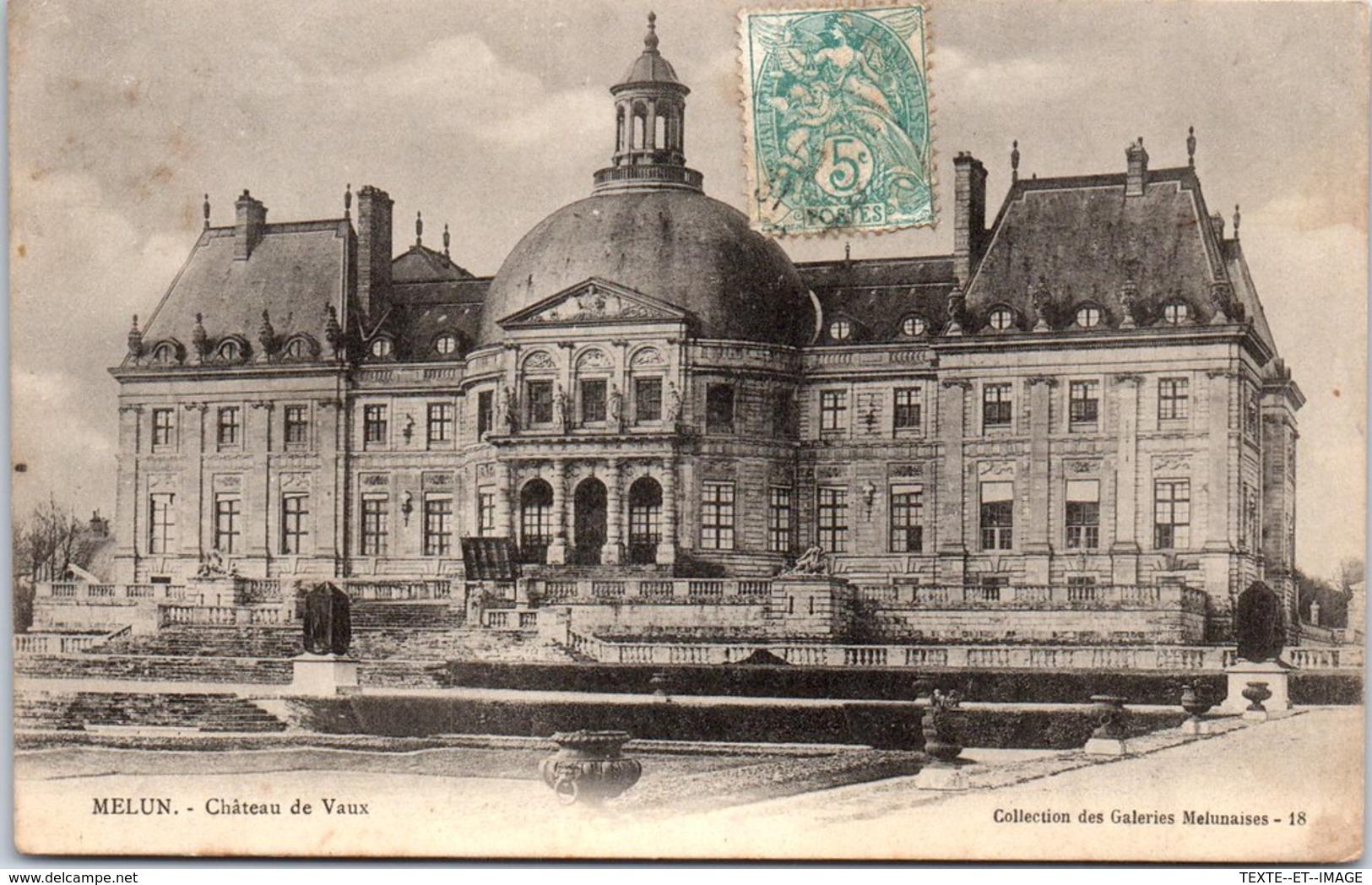 77 MELUN - Carte Postale Ancienne, Voir Cliché[REF/S001010] - Melun