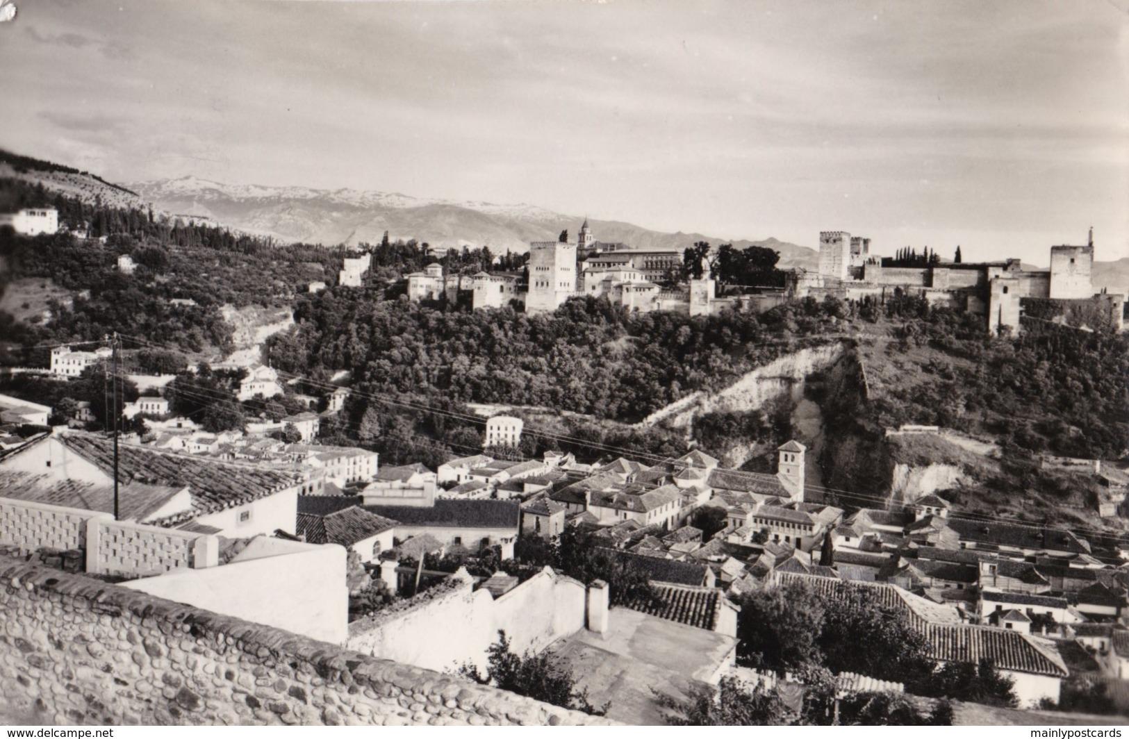 AL50 Granada, La Alhambra Y Sierra Nevada - RPPC - Granada