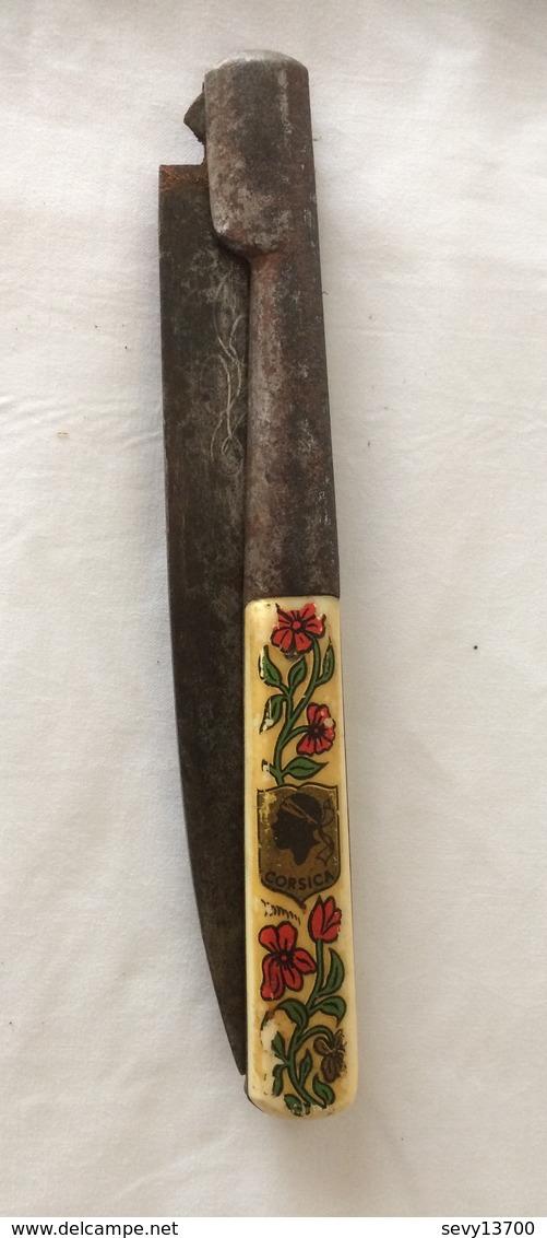 Couteau Vendetta 36,5 Cm Ouvert - Blankwaffen