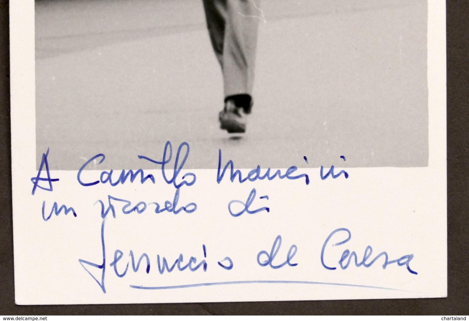 Cinema Teatro - Autografo Dell'attore Ferruccio De Ceresa - Anni '60 - Autografi