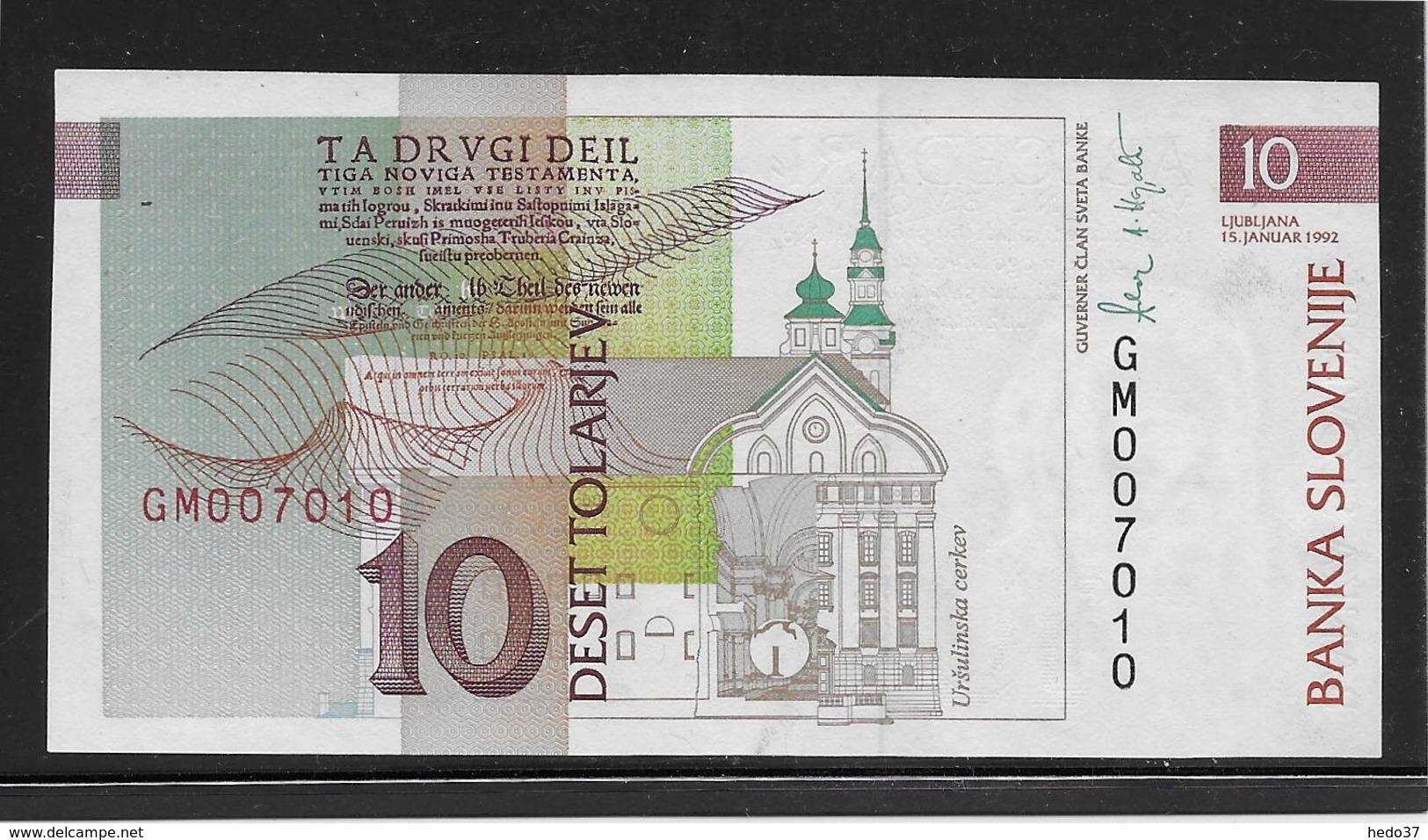 Slovénie - 10 Tolarjev - Pick N°11 - NEUF - Slovénie
