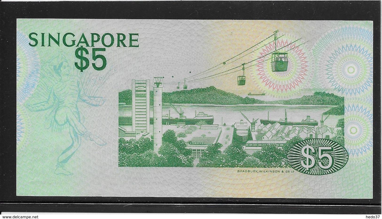 Singapour - 5 Dollars - Pick N°10 - SPL - Singapore
