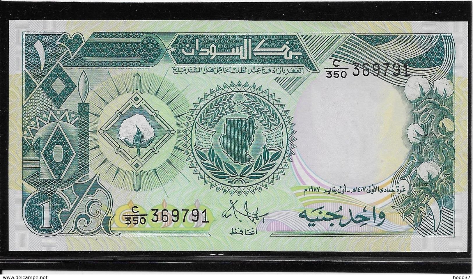 Soudan - 1 Pound - Pick N°39 - NEUF - Sudan