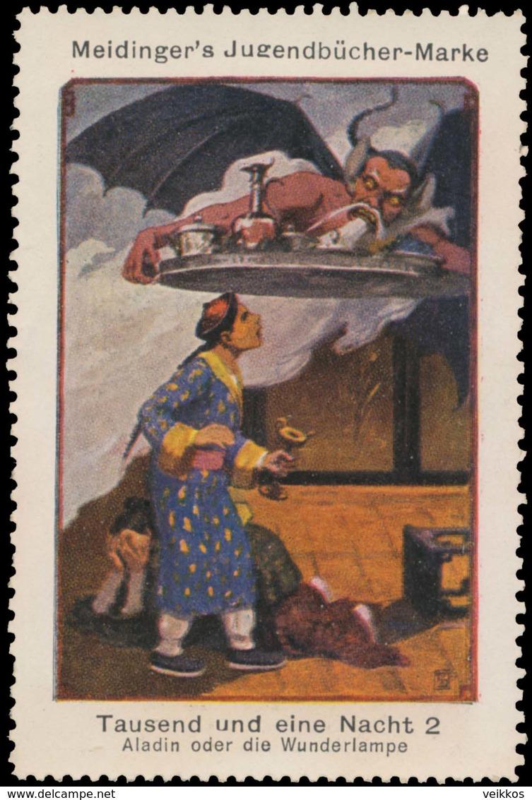 Berlin : Aladin Oder Die Wunderlampe Reklamemarke - Cinderellas