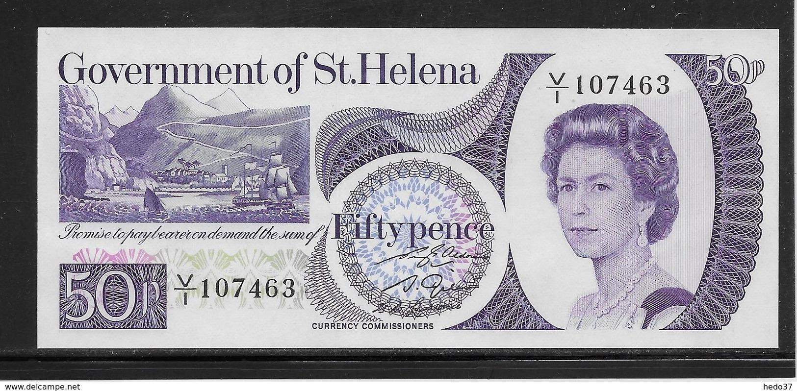 Sainte-Hélène - 50 Pence - Pick N°5 - NEUF - Isla Santa Helena