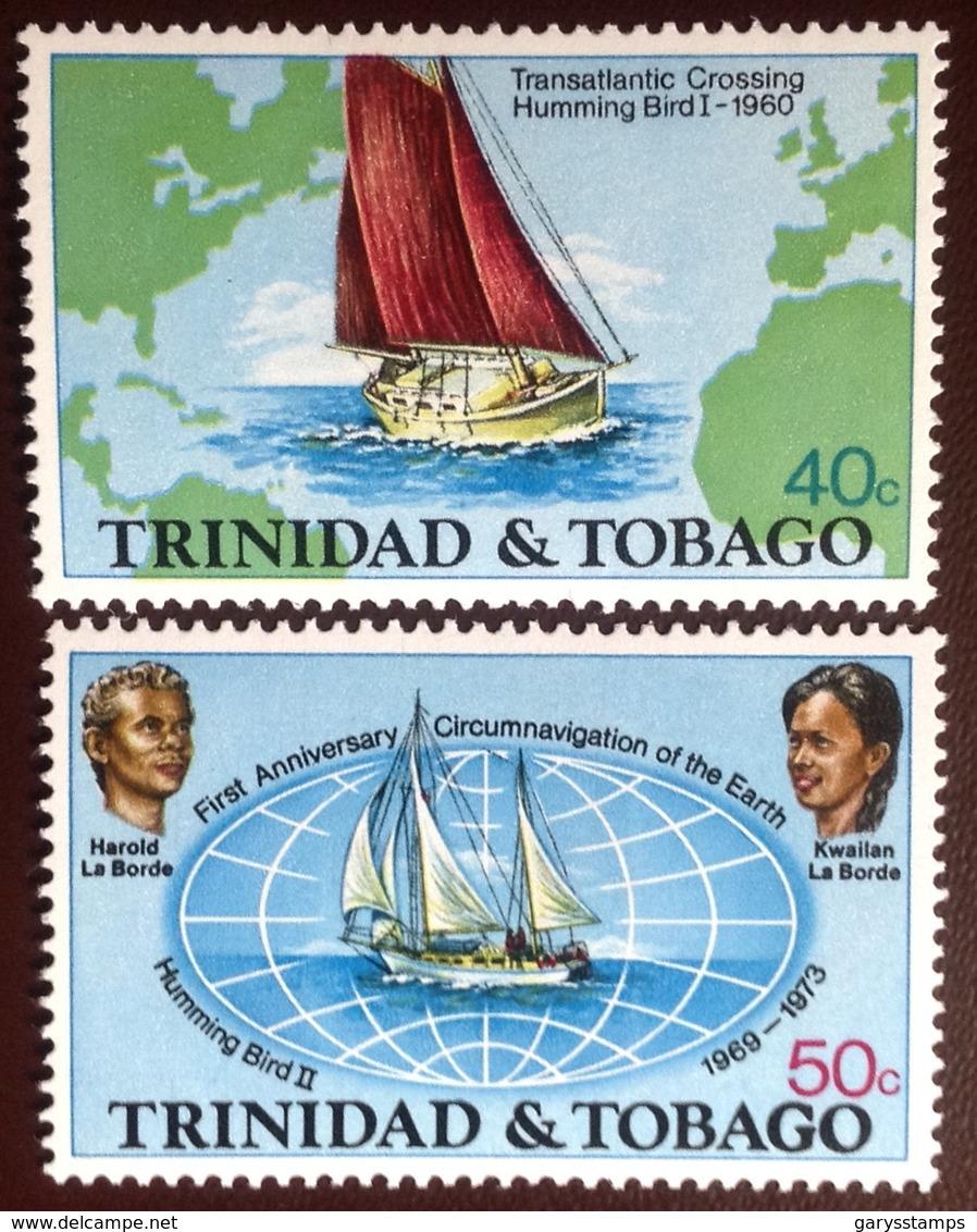Trinidad & Tobago 1974 World Voyage MNH - Trinidad & Tobago (1962-...)