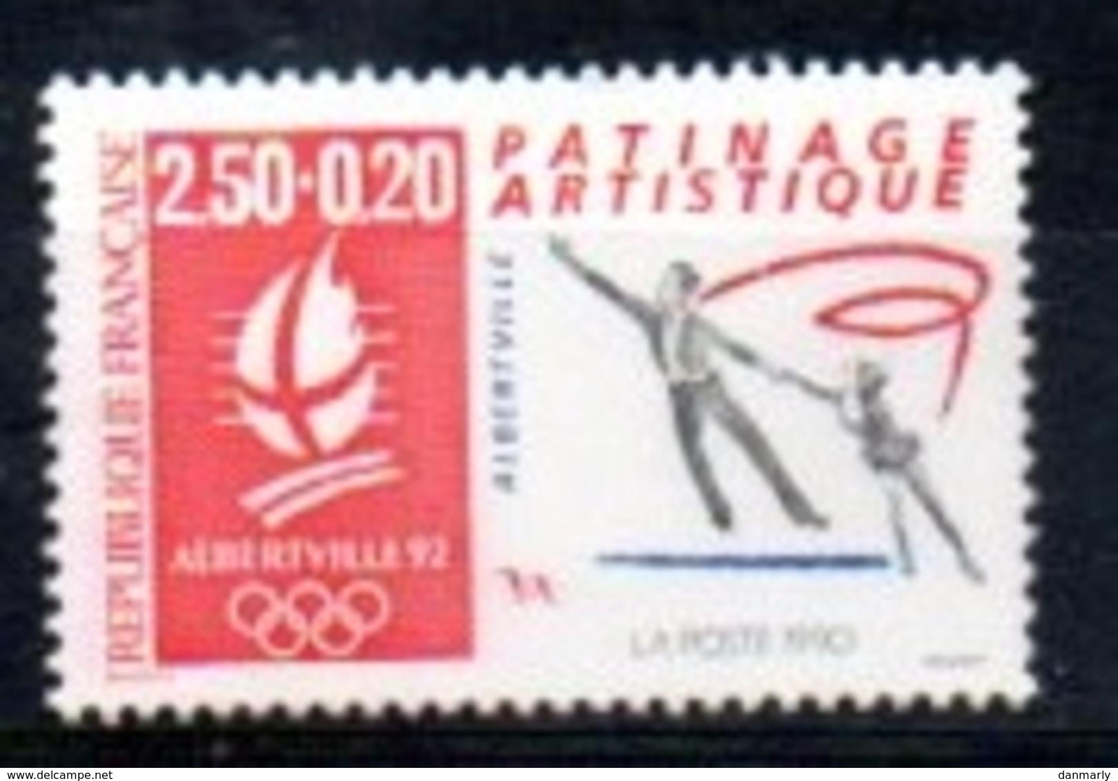 """France 1992 : Timbre N° 2737 Du Feuillet Y&T N° 14  """" Patinage Artistique """" - Frankreich"""