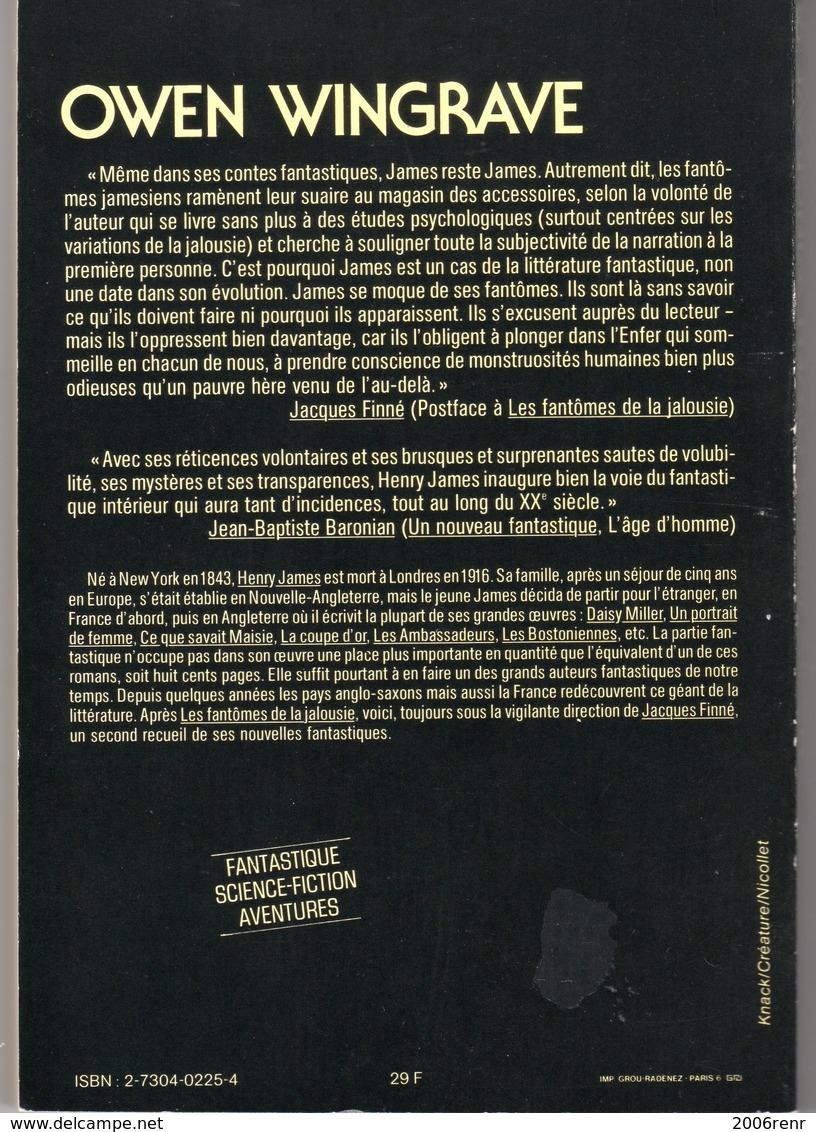 OWEN WINGRAVE De HENRY JAMES NEO N° 89 Tirage Limité. Voir Description Et Scans - Fantasy