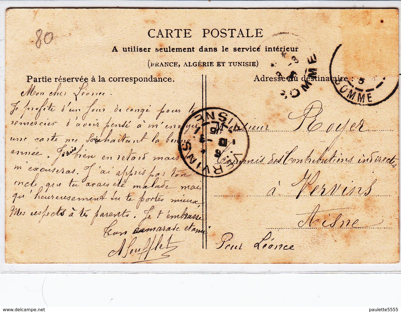 CPA- SAINT-VALERY-SUR-SOMME- Ferme De La Garenne-dép80- Animée-2scans - Saint Valery Sur Somme