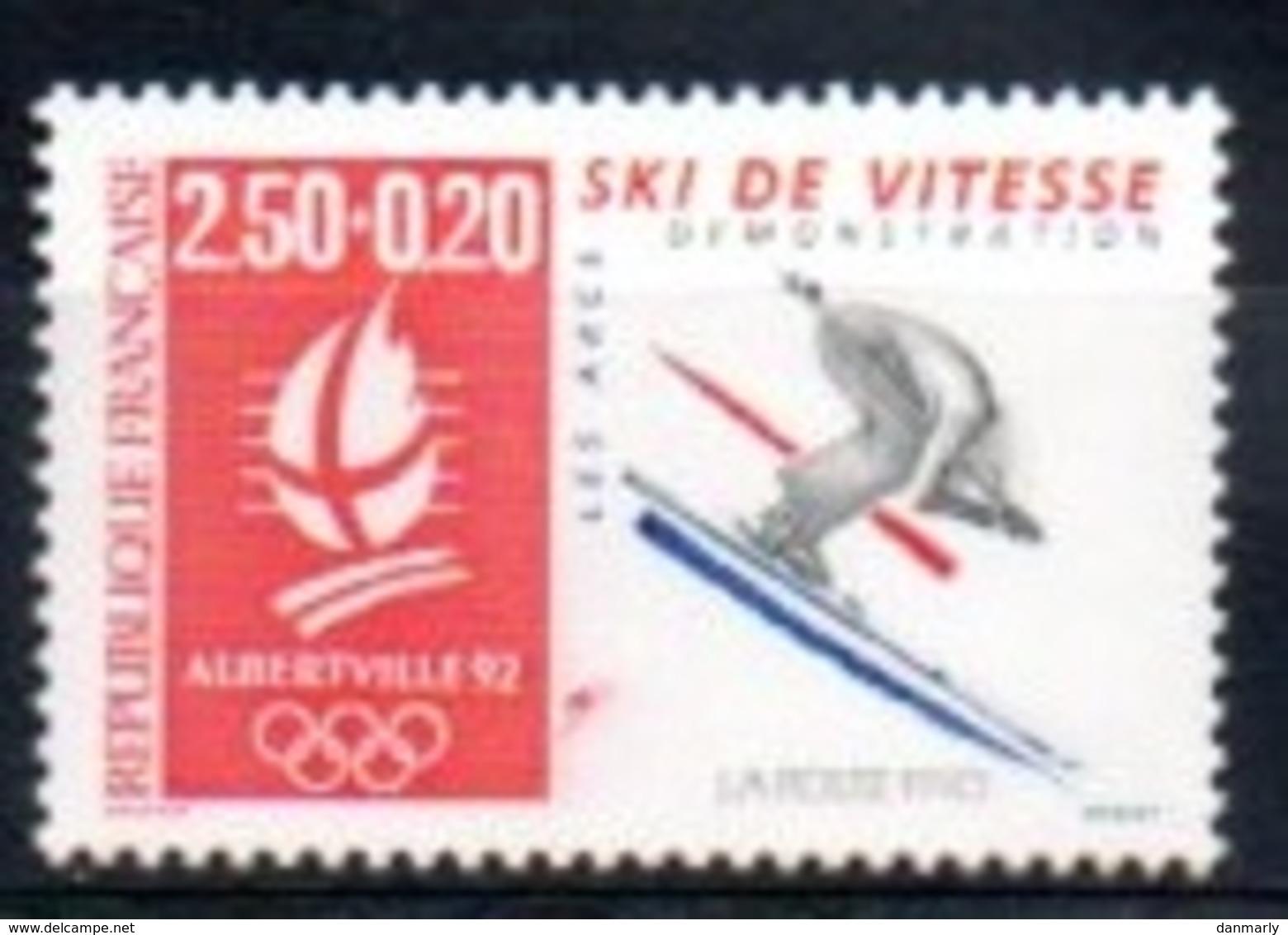 "France 1992 : Timbre N° 2739 Du Feuillet Y&T N° 14  "" Ski De Vitesse "" - Frankreich"