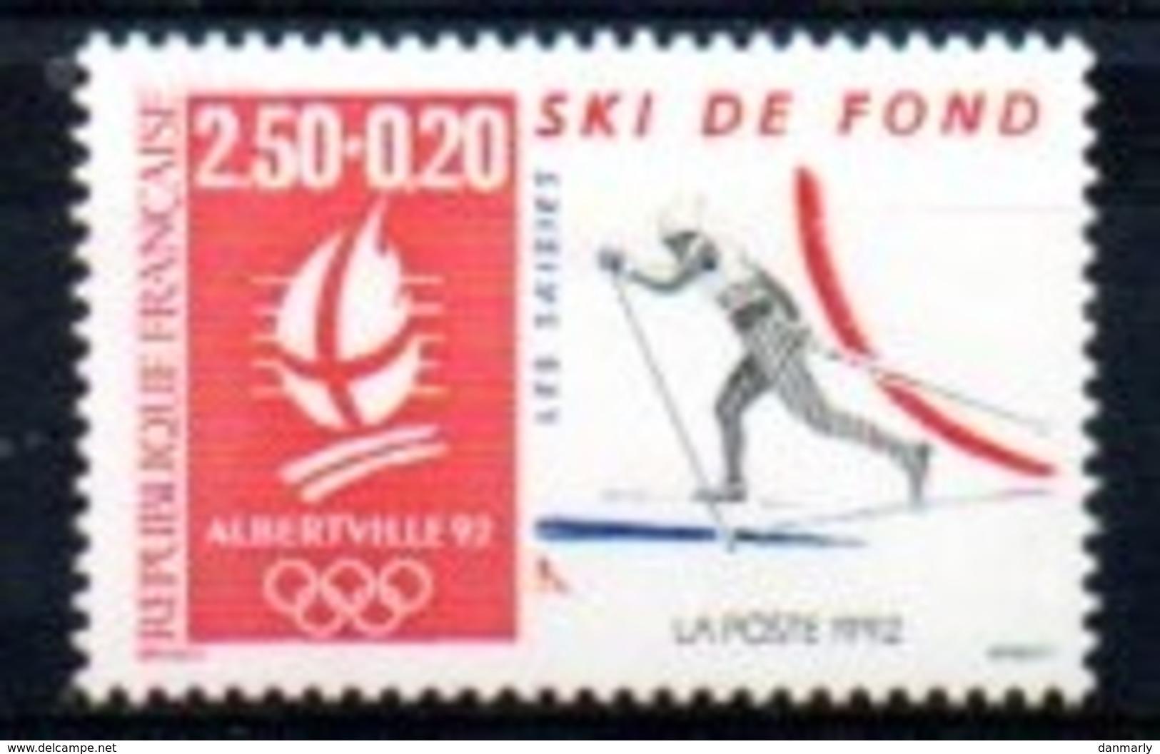 "France 1992 : Timbre N° 2742 Du Feuillet Y&T N° 14  "" Ski De Fond "" - Frankreich"