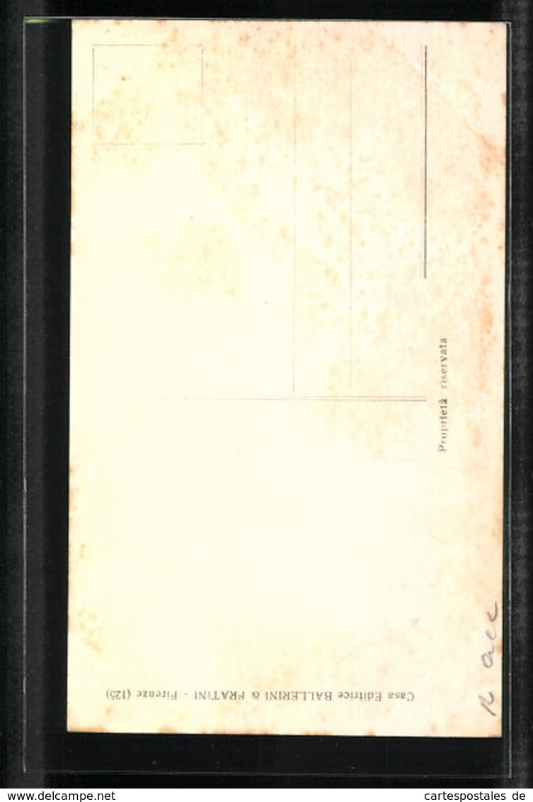 Cartolina Portrait Umberto I. Von Italien In Uniform Mit Orden - Familles Royales