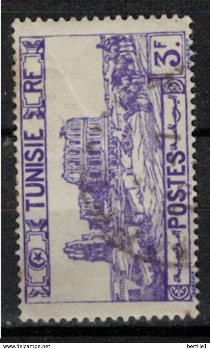 TUNISIE       N°  YVERT     220   OBLITERE       ( O   2/21 ) - Usados