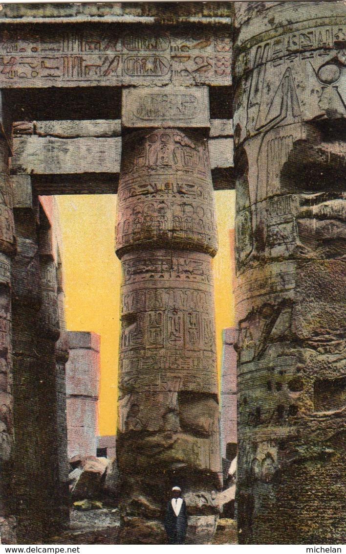 CPA    EGYPTE---KARNAK---GRAND TEMPLE D'AMMON - Egypt