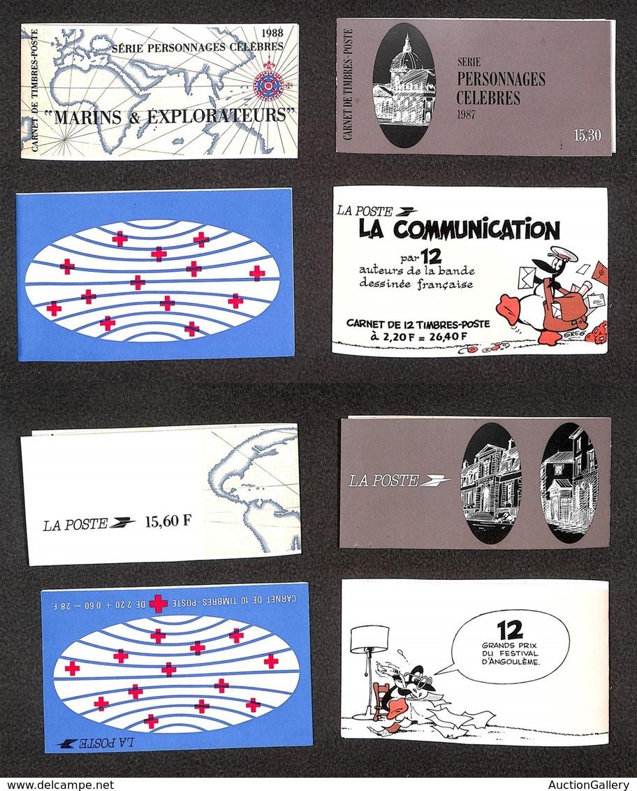 FRANCIA - 1987/1988 - Libretti (MH 7 + 11/12 + 14) - 4 Libretti - Nuovi - Unclassified