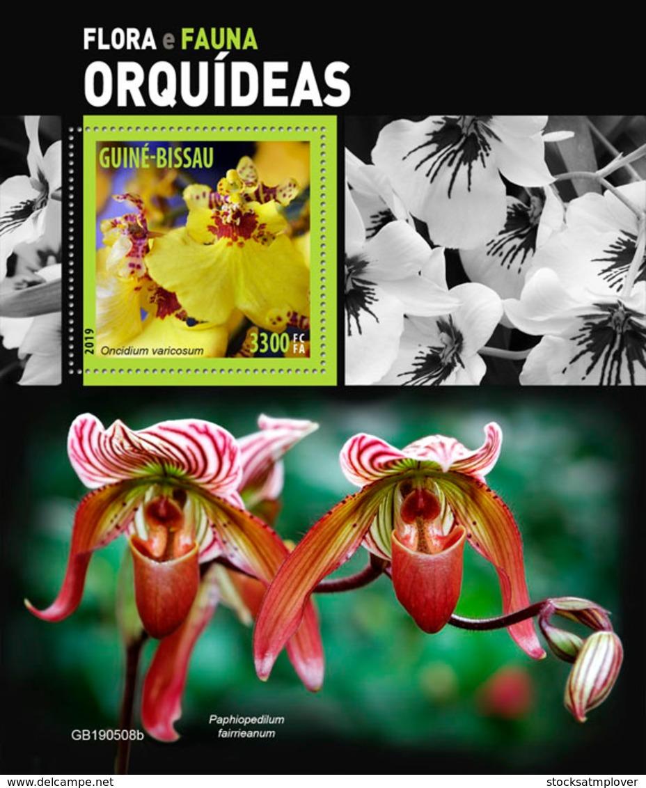 Guinea Bissau   2019 Orchids   S201905 - Guinea-Bissau