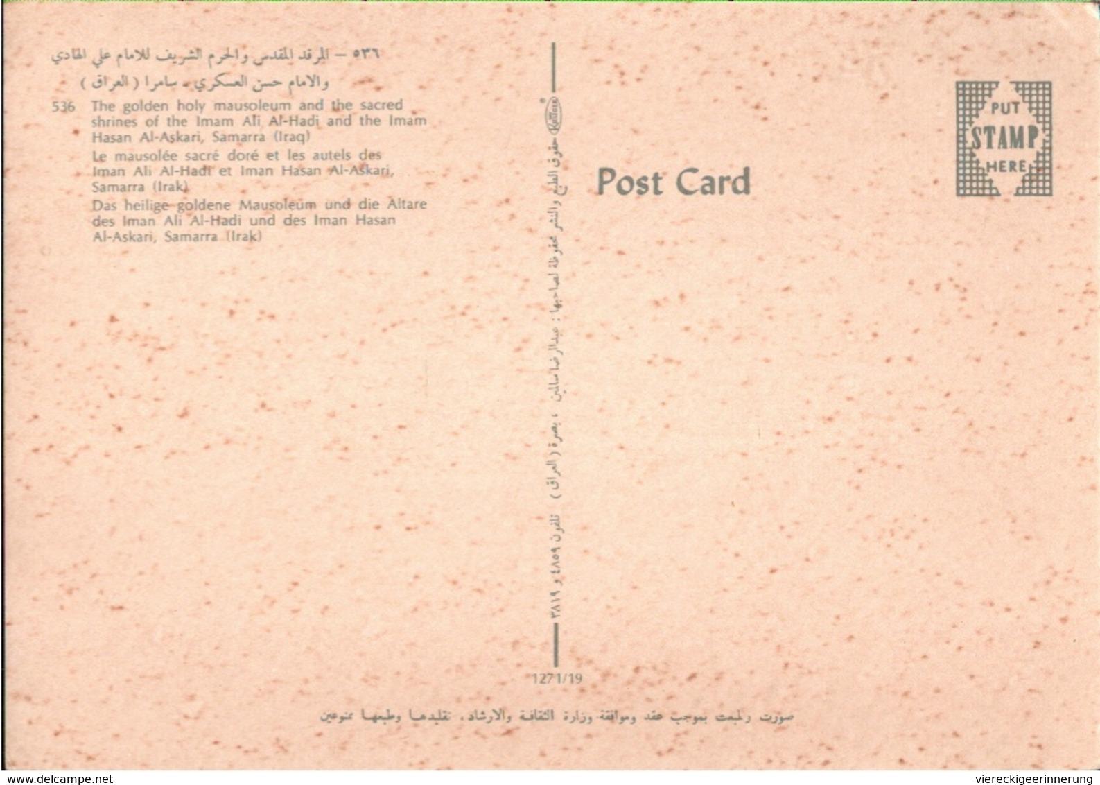 !  Modern Postcard Samarra, Iraq, Irak - Iraq