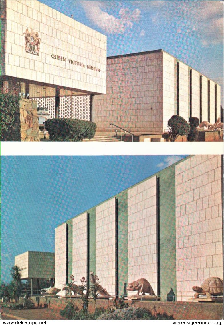 !  Modern Postcard Queen Victoria Museum, Salisbury, Rhodesia, Harare - Simbabwe