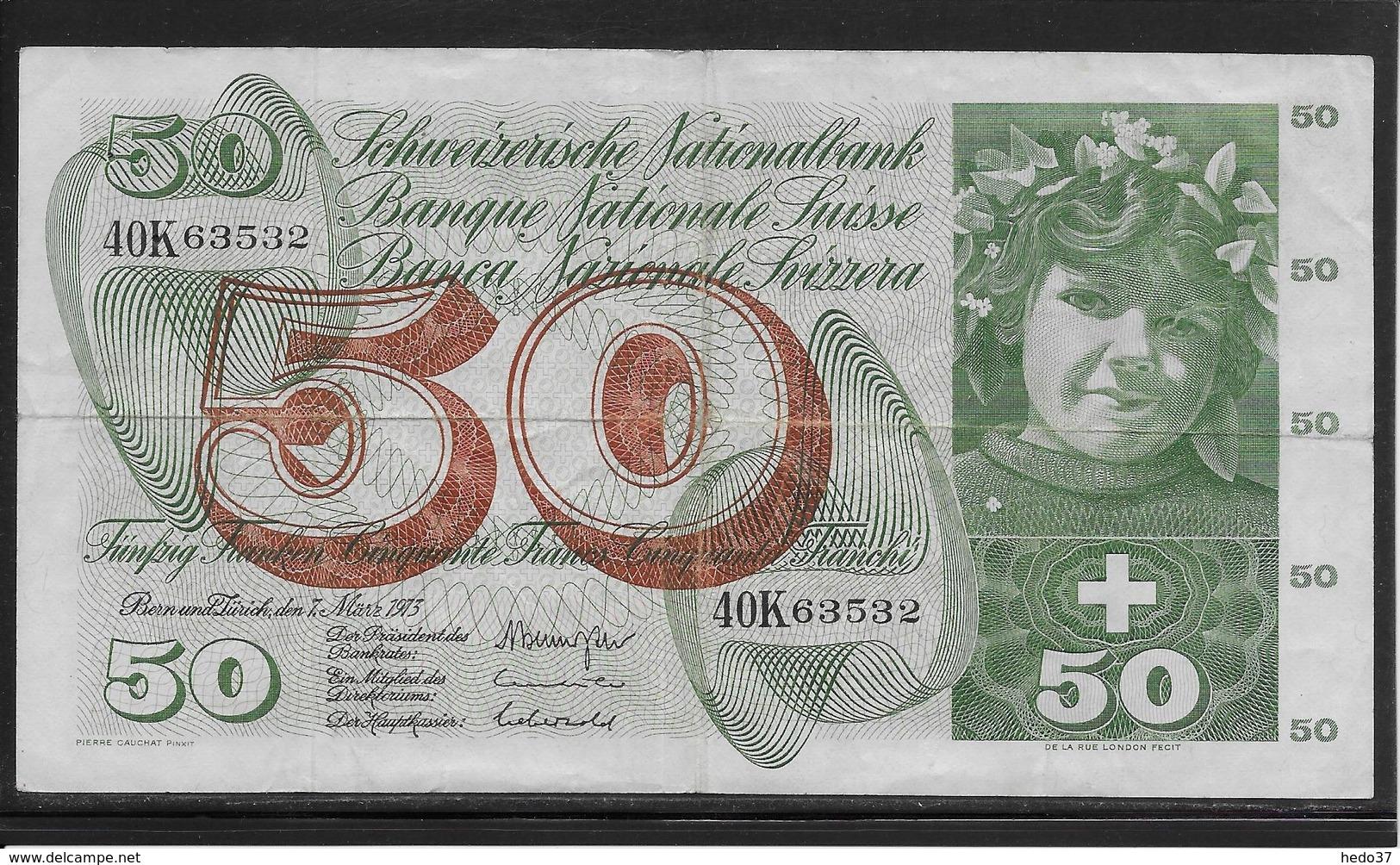 Suisse - 50 Francs - Pick N°48m - TB - Suiza