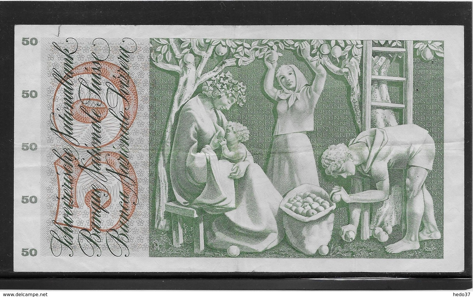 Suisse - 50 Francs - Pick N°48l - TTB - Suiza