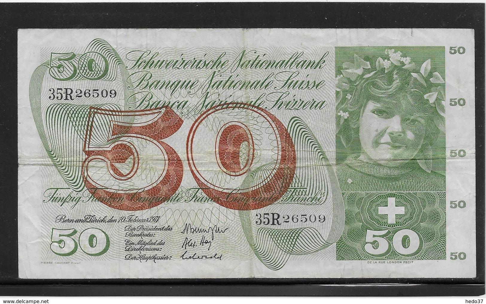 Suisse - 50 Francs - Pick N°48k - TB - Suiza