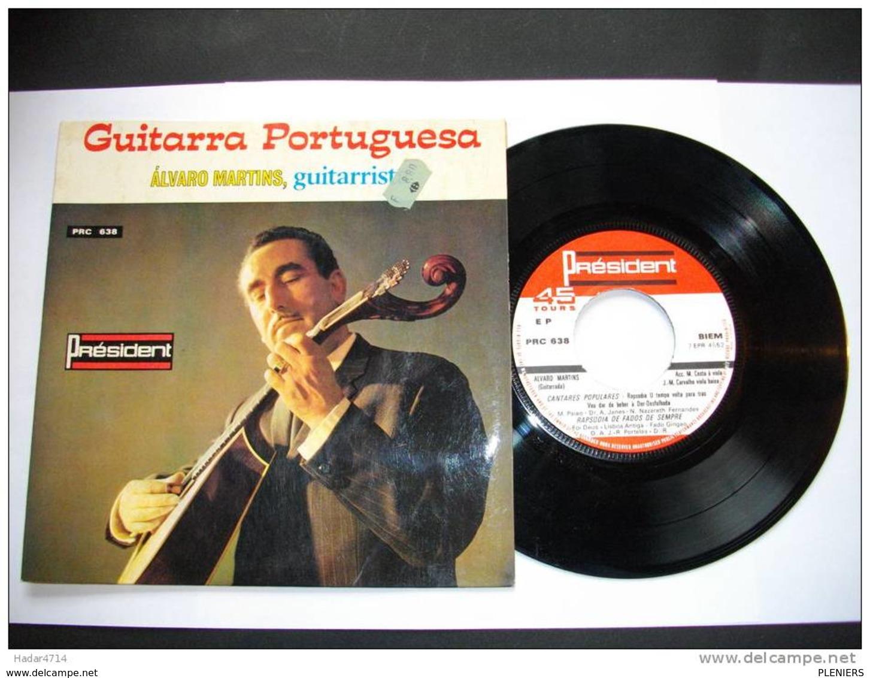 ALVARO MARTINS GUITARRISTE 3GUITARRA PORTUGUESA   PRC 638 PRESIDENT  OFIR MADE IN PORTUGAL - Musicals