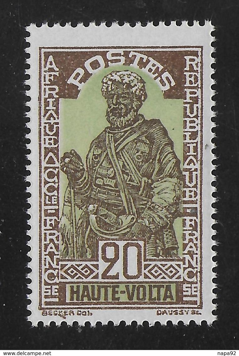 HAUTE VOLTA 1928 YT 49** - MNH - Ungebraucht