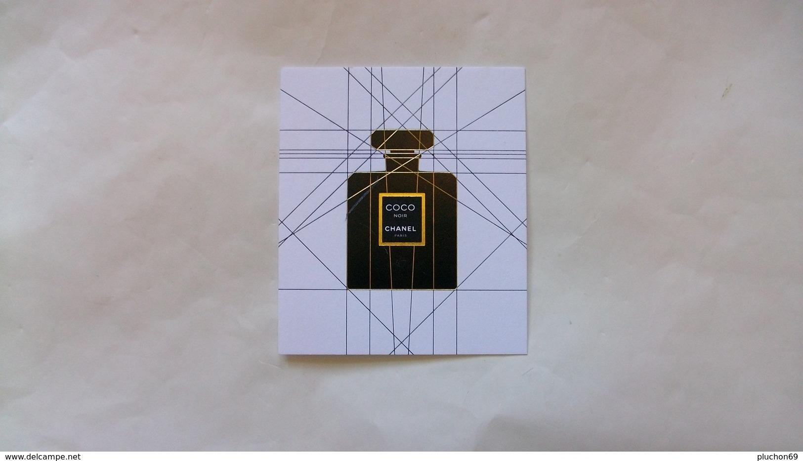 Carte Parfumée Chanel Coco Noir N°2 - Perfume Cards