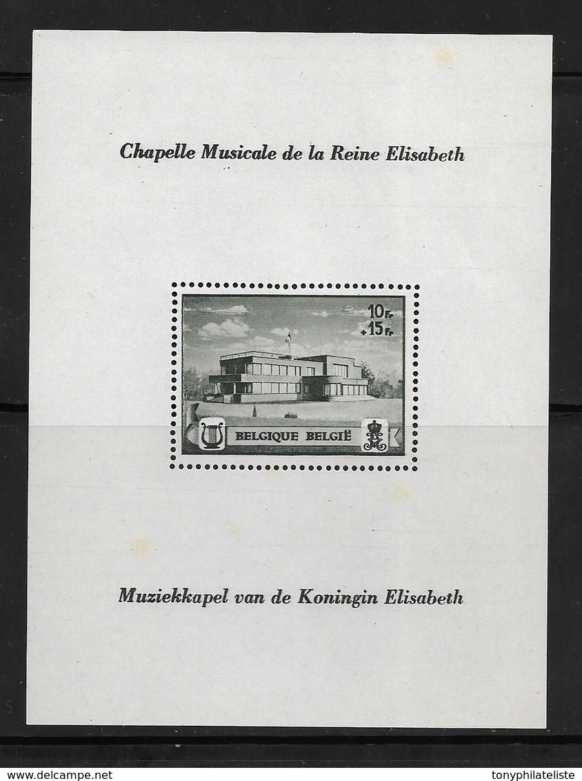 Belgique Bloc N°13 Neuf ** - Blocks & Kleinbögen 1924-1960
