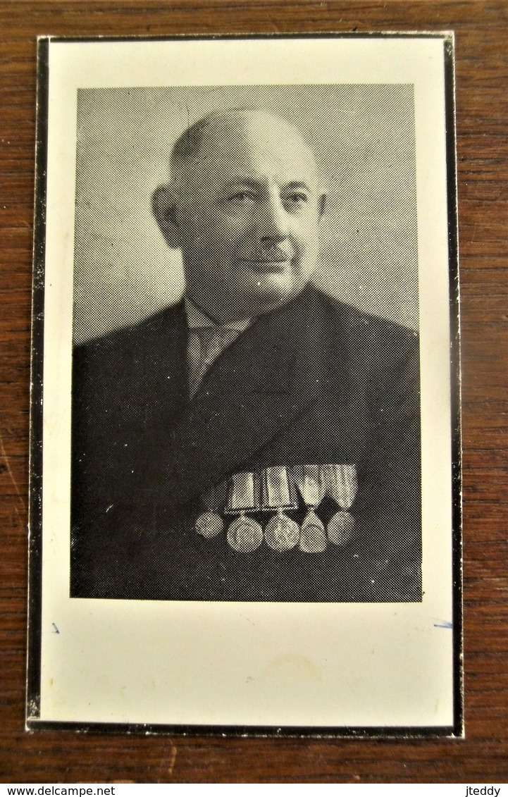"Herinnering Aan Carolus Ludovicus  JANSSENS  Lid  V . D . SPIONNAGE Dienst Van "" PRO -- PATRIA "" 1914 -- 1918 - 1914-18"