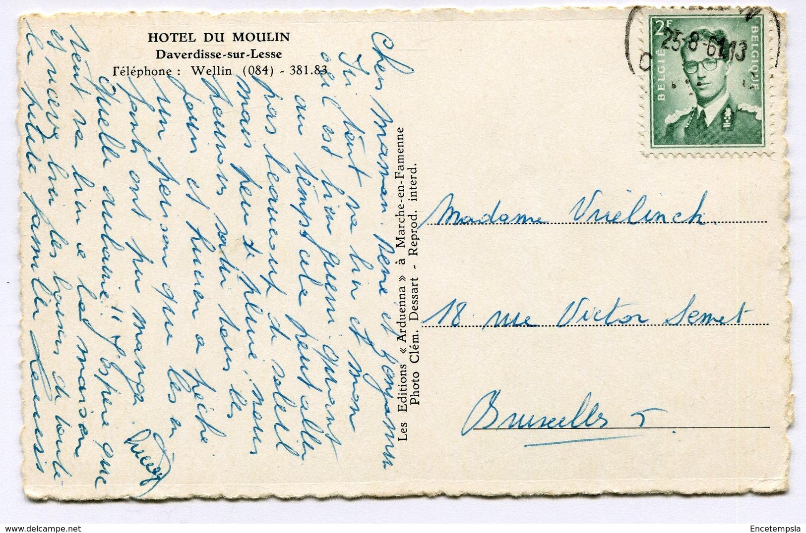 CPA - Carte Postale - Belgique - Daverdisse Sur Lesse - Le Chalet Suisse (B9318) - Daverdisse