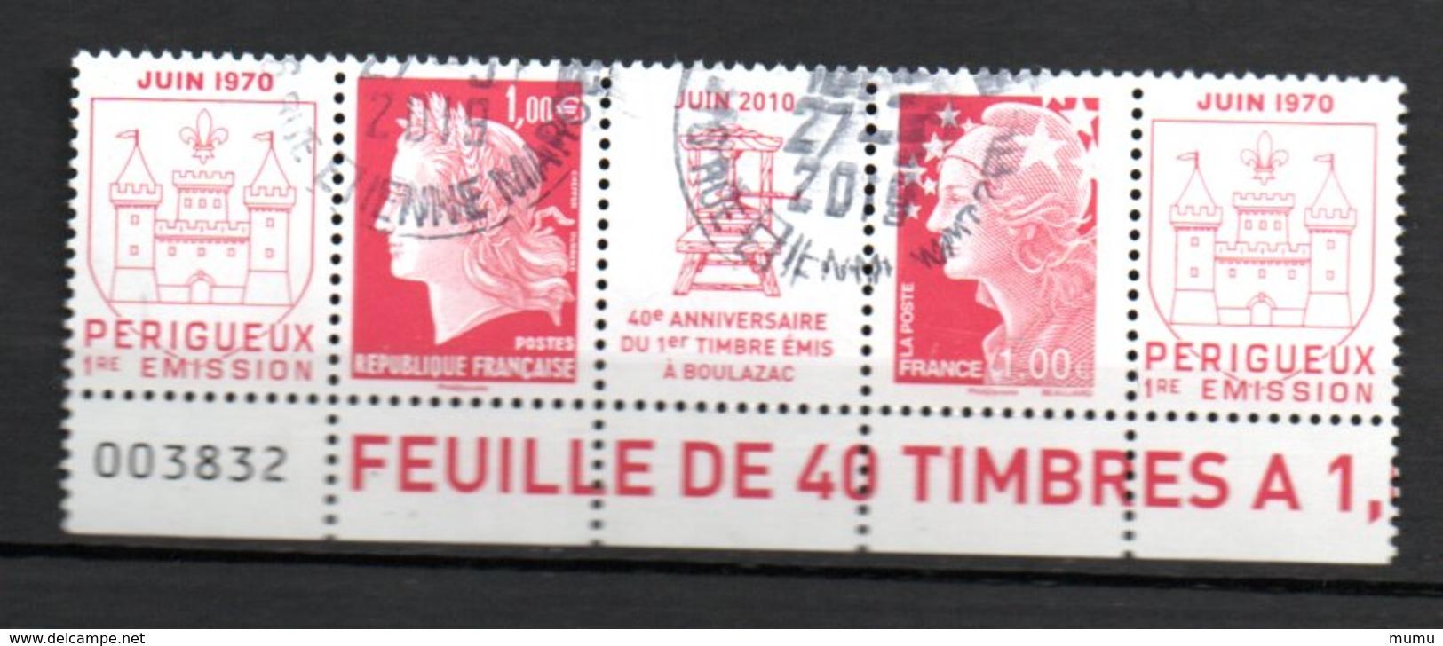 FRANCE  OB CACHET ROND YT N° 4459/60 - France