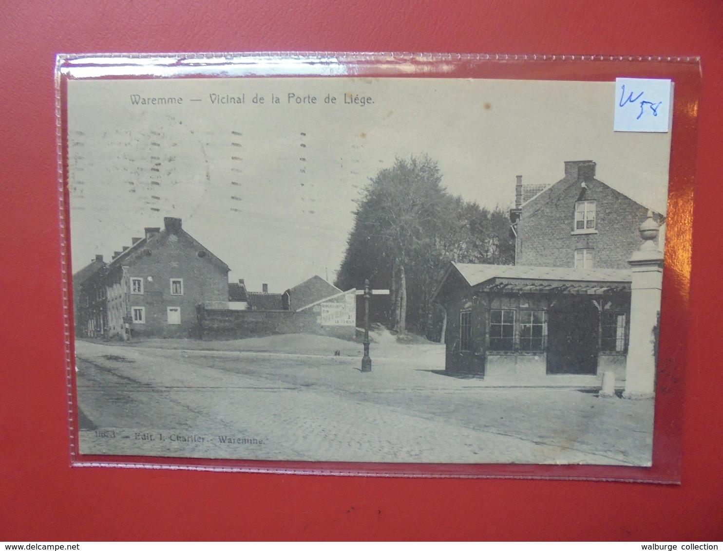 Waremme : Vicinal De La Porte De Liège (W58) - Waremme
